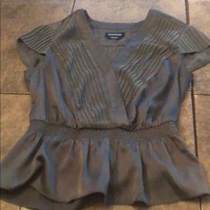 Bebe dark green blouse size XXS